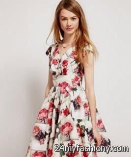 Vintage Floral Dresses