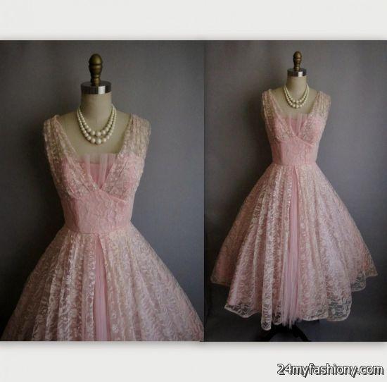vintage lace prom dresses 2017 discount evening dresses