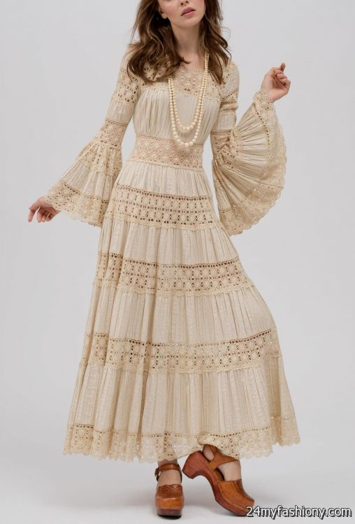 Cool Mexican Dress With Lace