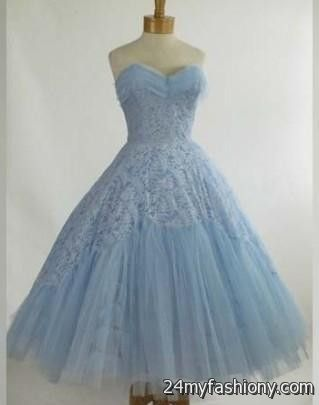 vintage prom dress blue 2016-2017 » B2B Fashion