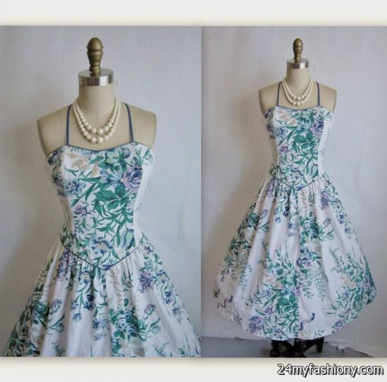 2a91ec5b9a5 You can share these vintage summer dresses on Facebook