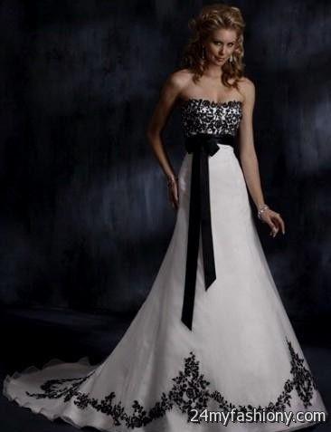 White Gothic Wedding Dresses 8