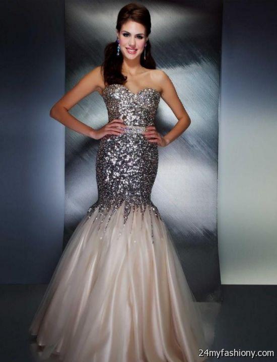 white and black mermaid prom dresses 20162017 b2b fashion