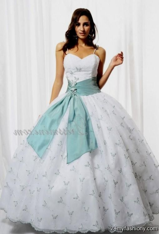 white and blue sweet 16 dresses 2016-2017 » B2B Fashion