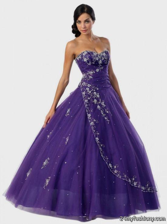 Emejing Dark Purple Wedding Dresses Images - Styles & Ideas 2018 ...