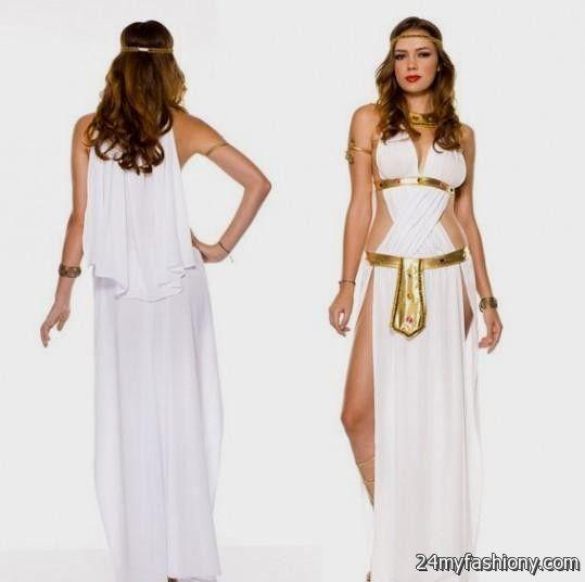 white and gold goddess prom dress 2016-2017 | B2B Fashion