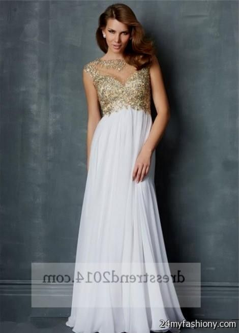 white and gold prom dresses 2016-2017 » B2B Fashion