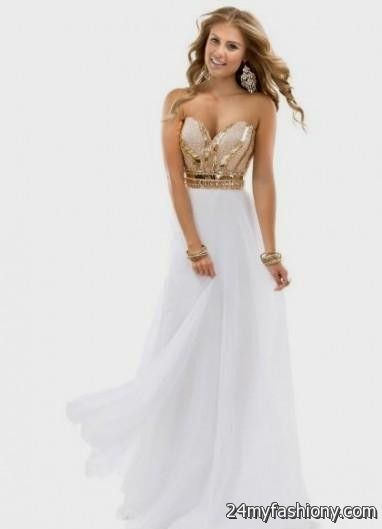 460ae24ebbe white and gold quinceanera dresses tumblr looks