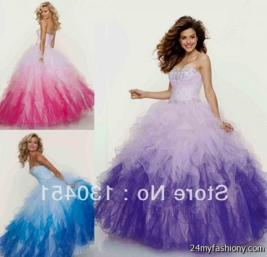 White And Pink Quinceanera Dresses 2013 - Missy Dress