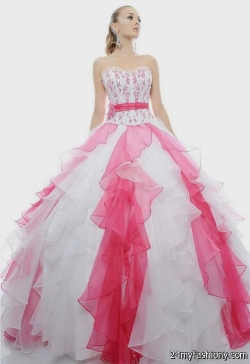 2019 year look- Dresses 16 sweet pink and white
