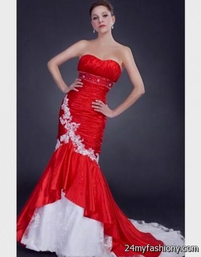 Red White Prom Dresses - Holiday Dresses