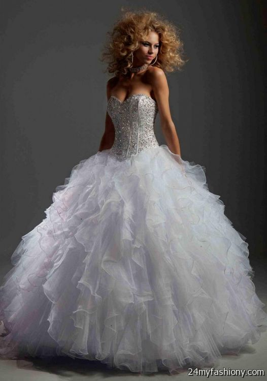 white and silver quince dresses 2016-2017 | B2B Fashion