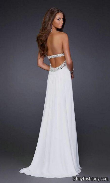 white backless prom dresses 2016-2017 | B2B Fashion