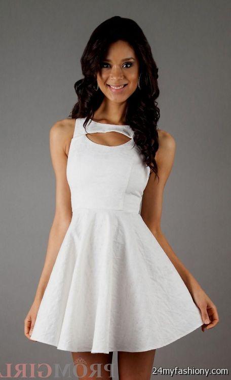 White Confirmation Dresses for Juniors 2015