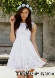 White Confirmation Dresses for Women