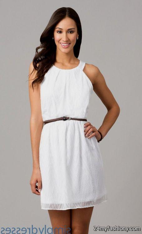 white dresses for graduation 2016-2017 » B2B Fashion