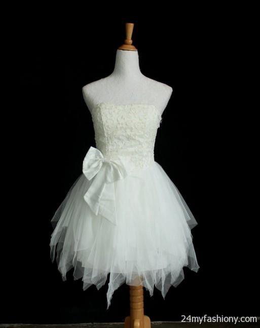 white dresses for prom for teens 2016-2017 » B2B Fashion