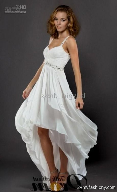 After All It Comes Once In A Blue Moon Affordable Junior Prom Graduation Plus Size Formal Dresses You Can Share These White High Low