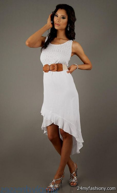 High white low dresses for juniors new photo