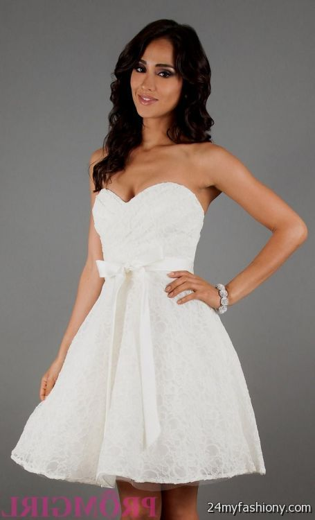 white homecoming dresses 2016-2017 » B2B Fashion