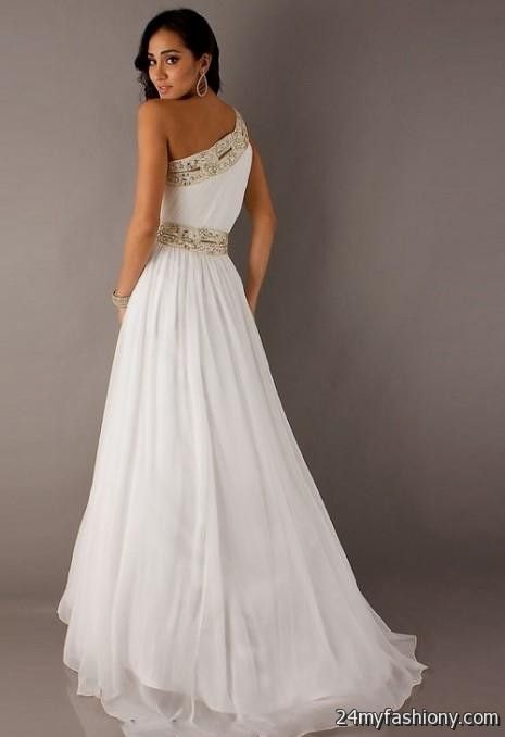 White Prom Formal Dresses Article 39