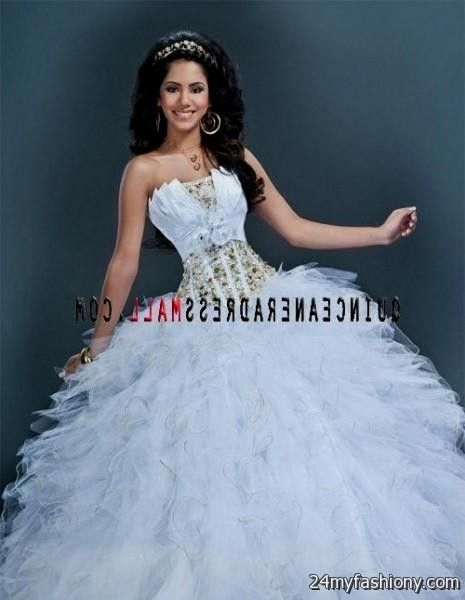 white puffy quinceanera dresses 2016-2017 » B2B Fashion