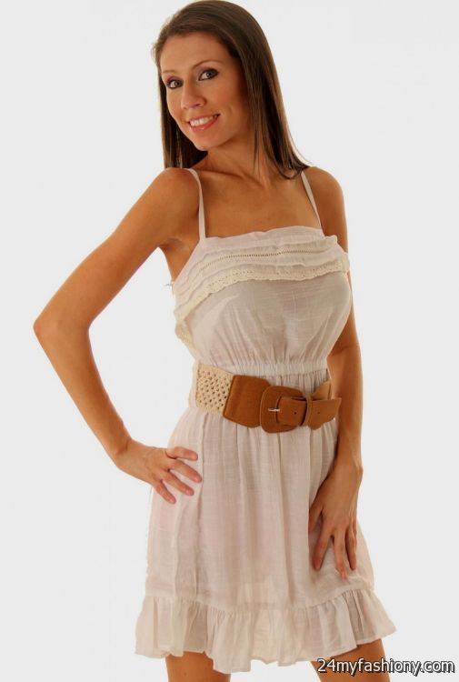 84e666cd966 You can share these white sheer summer dresses on Facebook