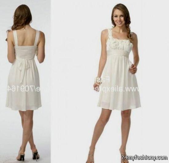 white spring dresses for juniors 2016-2017 » B2B Fashion
