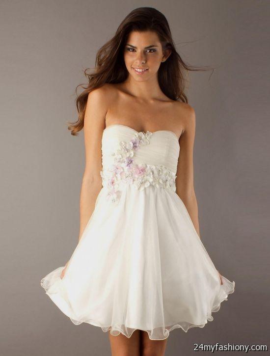 white spring dresses for juniors 2016-2017   B2B Fashion