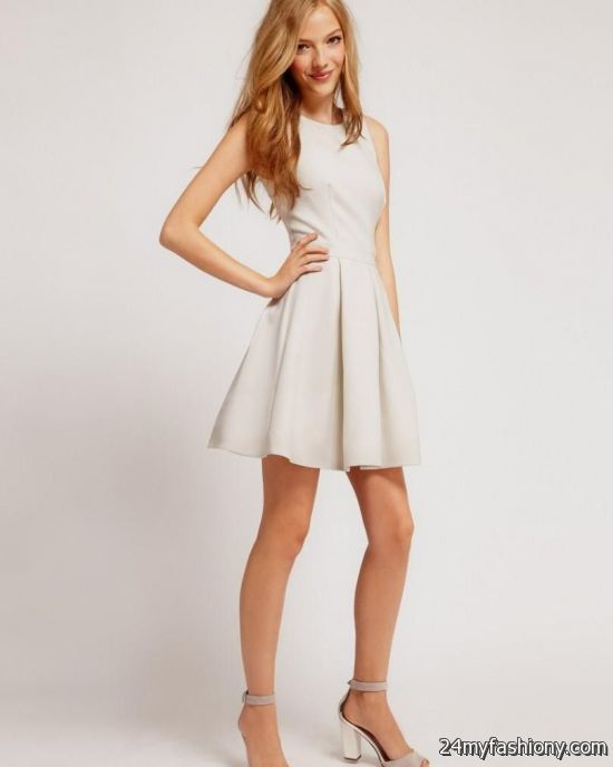 white spring dresses for juniors 2016-2017 » B2B Fashion
