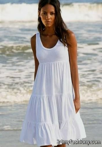 white summer beach dresses 2016-2017 » B2B Fashion