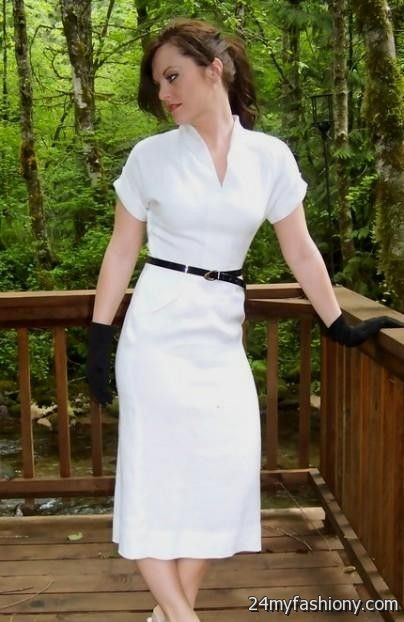 2f9010a1c0e Look your best in these sexy prom dresses! Pin it. Like! You can share these  white vintage summer dresses on Facebook ...