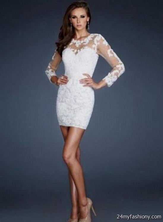 white winter formal dresses 2016-2017 » B2B Fashion