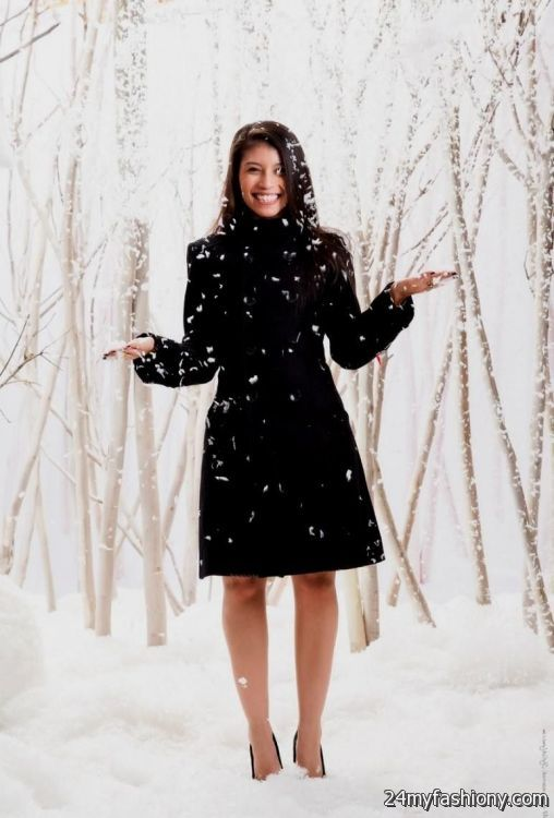 Winter Black Dress Outfits Looks B2b Fashion