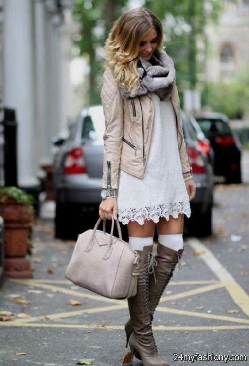 winter dress outfit ideas 2016-2017 | B2B Fashion