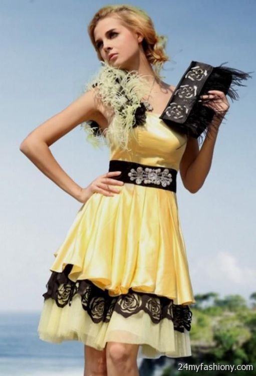 Yellow Cocktail Dresses  ShopStyle