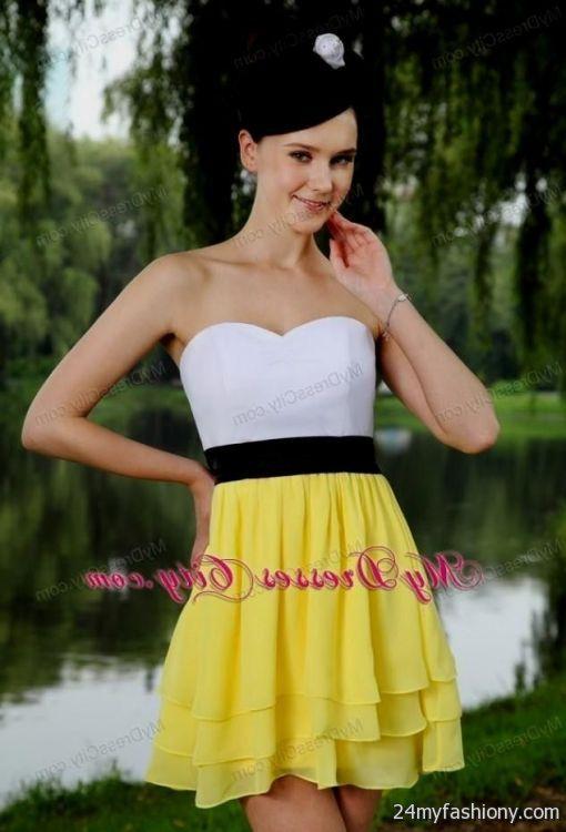 yellow cocktail dress  eBay