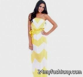 yellow chevron maternity dress 2016-2017 » B2B Fashion