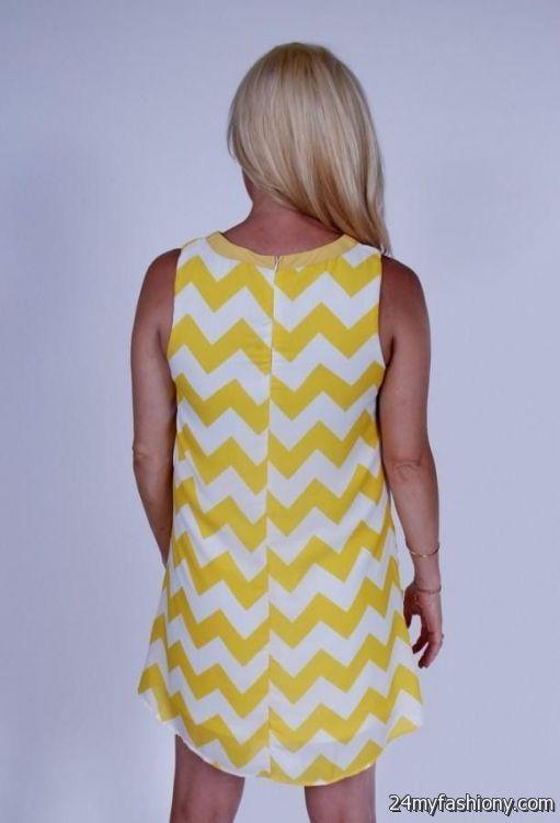 Yellow chevron maternity dress – Dress online uk
