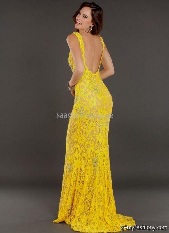 yellow prom dresses 2016-2017 | B2B Fashion