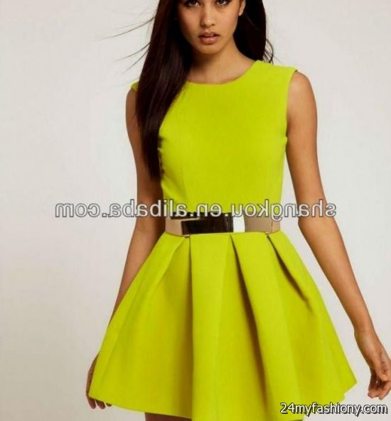 yellow summer dresses for women 2016-2017 | B2B Fashion