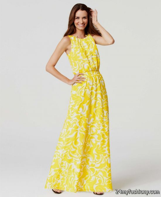 Collection Maxi Dress Summer Pictures - Reikian