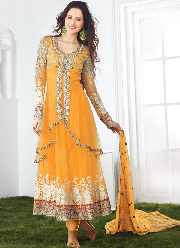 Net maxi dress in pakistan 2018 designs
