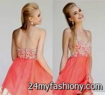 176a783896 You can share these 8th grade graduation dresses high low on Facebook