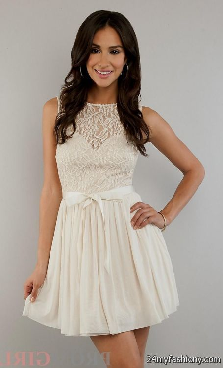 8th Grade Graduation Dresses With Straps 2016 2017 B2b