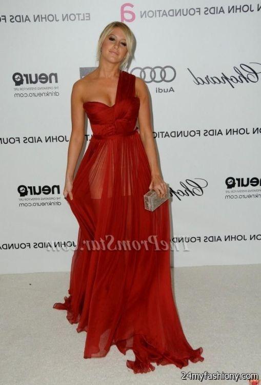 Prom Dresses Ashley Tisdale - Purple Graduation Dresses