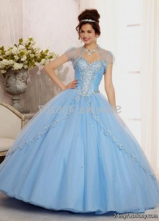 baby blue quinceanera dresses 2016-2017
