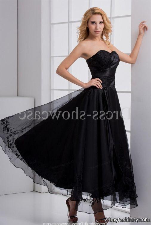 beautiful black prom dresses 2016-2017