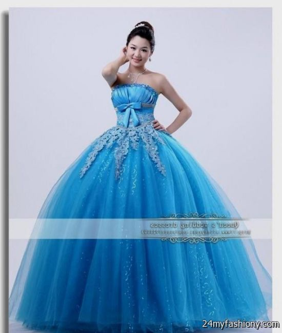 beautiful blue ball gowns 2016-2017 | B2B Fashion