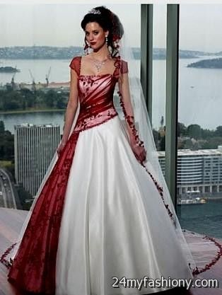 You Can Share These Beautiful Colorful Wedding Dresses On Facebook Stumble Upon My E Linked In Google Plus Twitter And All Social Networking